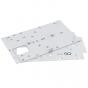 Cisco Meraki GO - Rack mid-mount kit - for Go GS110-48, GS110-48P